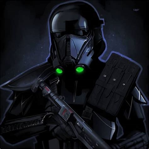 Black Star Wars Rogue One Death Trooper Bedding ? Star