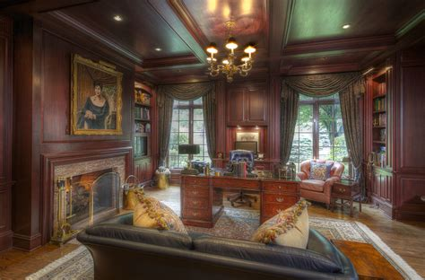 Newport Country Style Home Office Home Office Country Style House Design Ideas