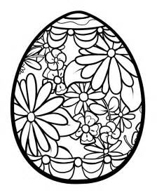 easter egg coloring ideas easter egg designs clipart best