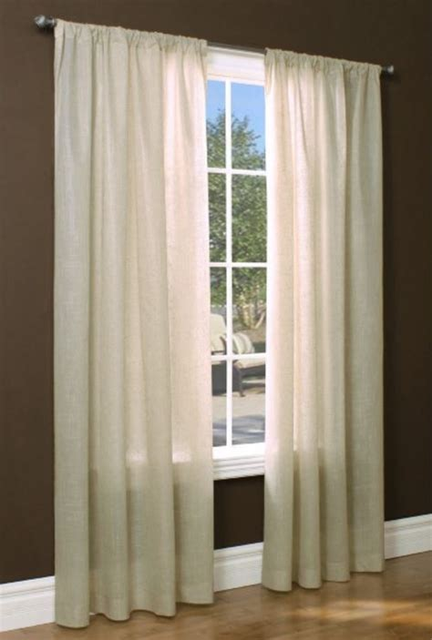 thermasheer curtains insulated rod pocket sheer curtain panel 50 quot wide