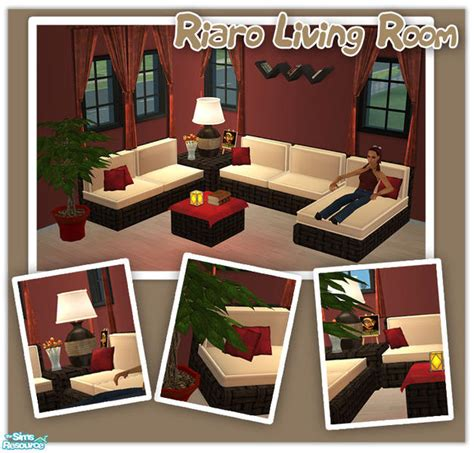 Sim Man123 S Riaro Living Room Sims 2 Living Room Sets