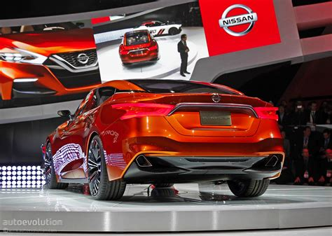 nissan car 2016 nissan sport sedan concept previews the 2016 maxima live