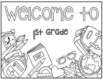 1st grade coloring pages welcome to 1st grade coloring page by christa leigh