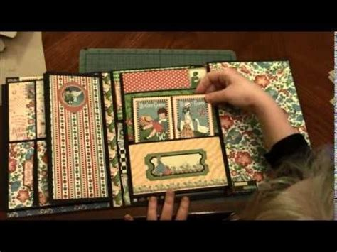 scrapbook folio tutorial 312 best graphic 45 mother goose images on pinterest