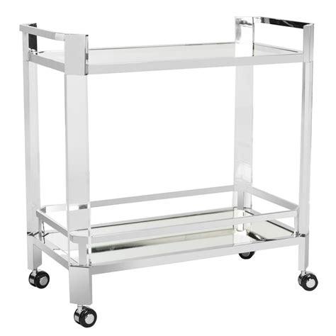 shop safavieh dermot silver clear glass top end table at sfv2529a safavieh