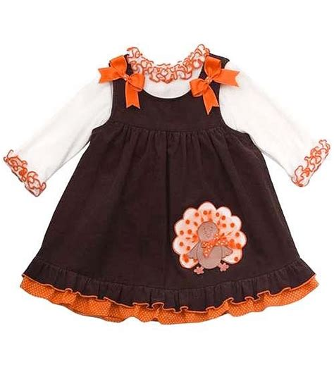thanksgiving dress toddler new toddler editions sz 2t thanksgiving turkey jumper dress clothes ebay
