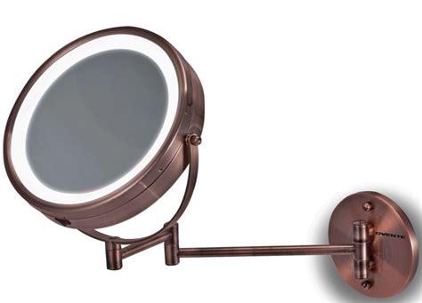 Lighted Wall Mount Vanity Mirror by Led Surround Lighted Wall Mount Vanity Mirror