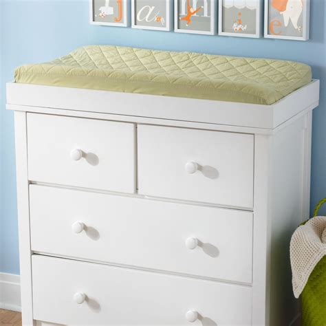 White Dresser With Changing Table Top by Baby Changing Tables Changing Stations The Land Of Nod