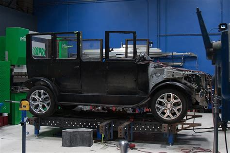 remodeled cers west coast customs ciptakan mitsubishi model a dari