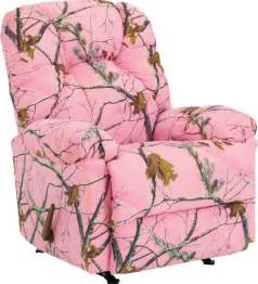 camouflage outdoorsman rocker recliner realtree apc pink