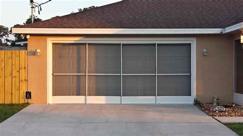 screen for garage door i do that screen repair garage screen doors