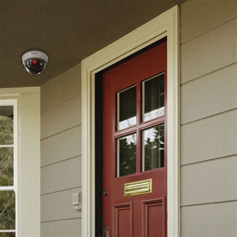 Front Door Security Cameras Security Dome Dummy Dome Sabre