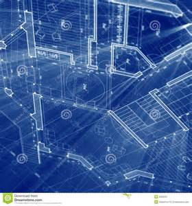 Blue Prints Of Houses Architecture Blueprint Stock Image Image 8303231