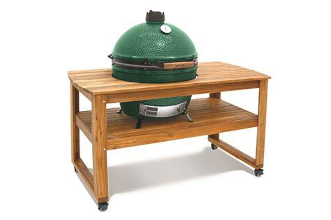xl big green egg table big green egg hardwood table acacia for xl egg 118264