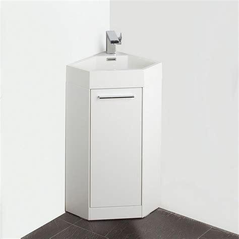 White Corner Bathroom Vanity Fresca Fvn5082wh Coda 14 Inch White Modern Corner Bathroom Vanity Fresca Vanity Fresca
