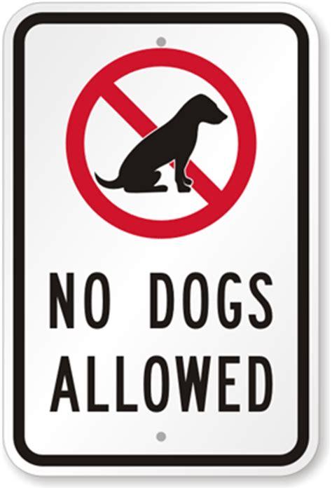no dogs allowed sign no dogs allowed sign