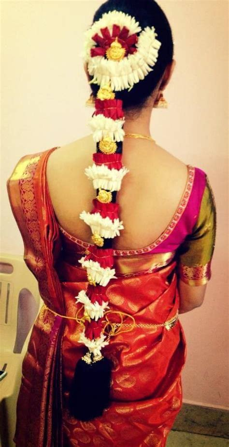 29 Amazing Pics Of South Indian Bridal Hairstyles For Weddings South Indian Bridal Hairstyle For Saree