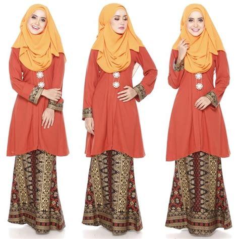 rekaan baju moden terkini baju kurung moden kain songket fesyen trend terkini