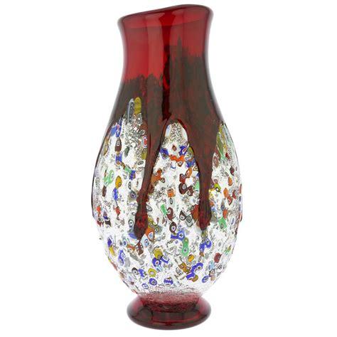 murano millefiori vase murano glass vases murano millefiori glass bottle