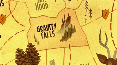 map of oregon gravity falls gravity falls oregon gravity falls wiki