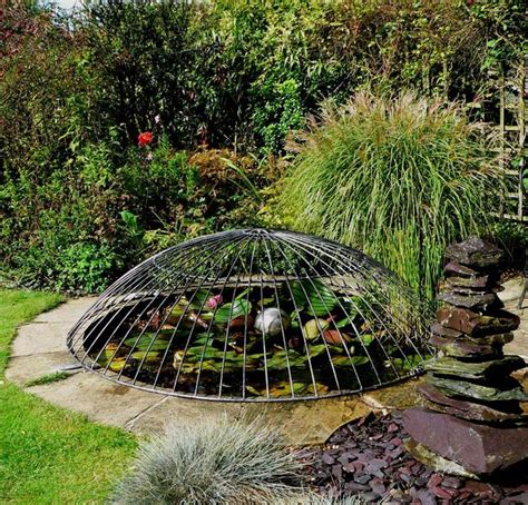 Decorative Pond Covers by 25 Best Ideas About Galvanized Steel On Galvanized Fence Post Building Raised Beds