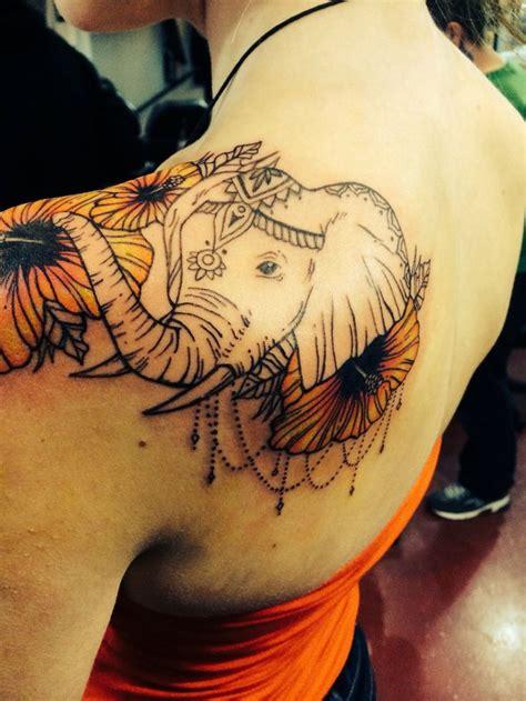 elephant tattoo for girl 51 cute and impressive elephant tattoo ideas sortra