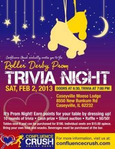 themes for quiz nights 11 best roller derby fundraising ideas images on pinterest