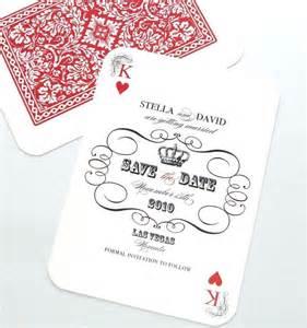 vegas wedding card las vegas wedding save the date casino invitation