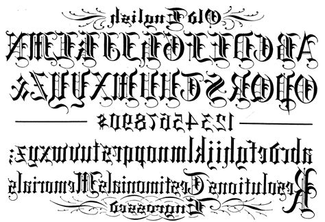 tattoo text generator old english font english alphabets s driverlayer search engine