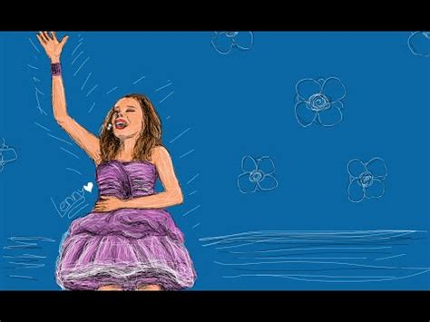 violetta painting drawing violetta concert in sketch martina stoessel