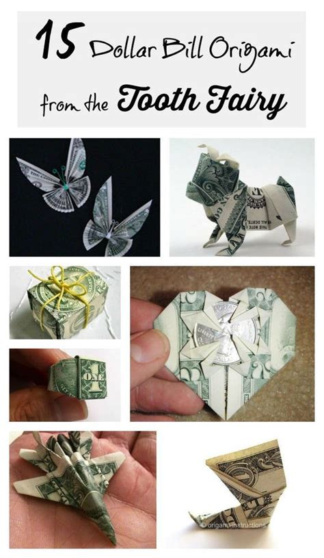 Creative Ways To Fold Paper - dollar bills origami and the o jays on