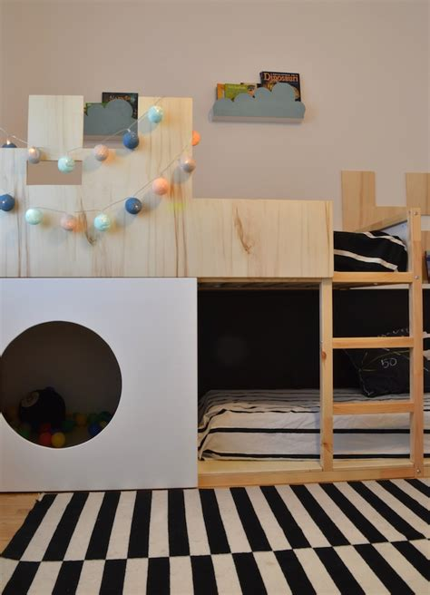 ikea hack bunk bed kura castle bunk bed ikea hackers ikea hackers