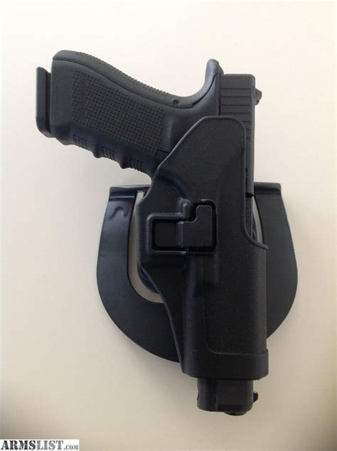 Promo Sale Holster Blackhawk Cqc For Handun Pistol Airsoft Glock 17 19 armslist for sale blackhawk serpa paddle holster for glock 9mm 357 and 40 cal pistols