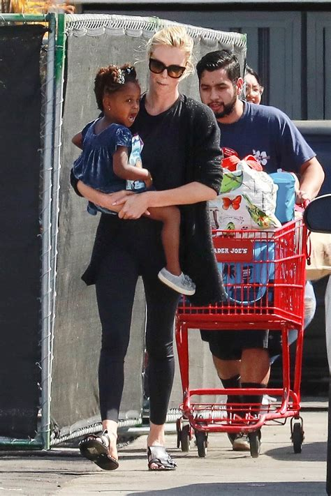 charlize theron   august   shopping