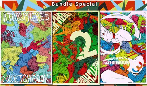 Atmosphere S Sketchbook Doujinshi Vol 1 3 Bundle Set