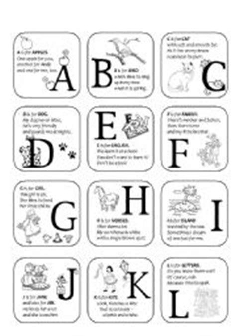 alphabet printing rhymes english worksheets alphabet rhymes a l
