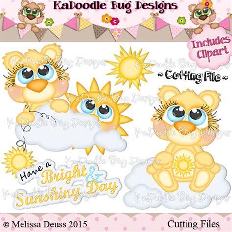 Cutie Katoodles Sunshiny Bears 2 25 Kadoodle Bug