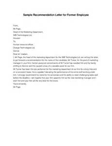 Reference Letter For Past Employee Recommendation Letter For Former Employee Hashdoc