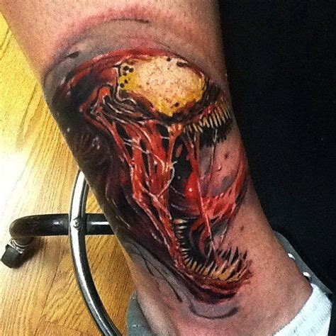 carnage tattoo carnage tattoos carnage tattooed