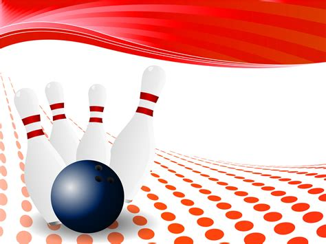 Bowling Pin Backgrounds Games Sports Templates Free Ppt Backgrounds And Powerpoint Slides Pin Design Template