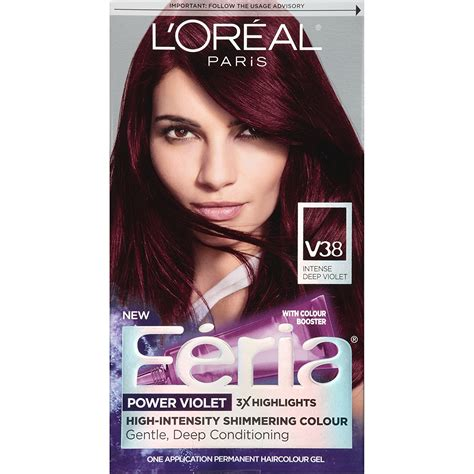 red and black l shade loreal purple brown hair dye best hair color 2017