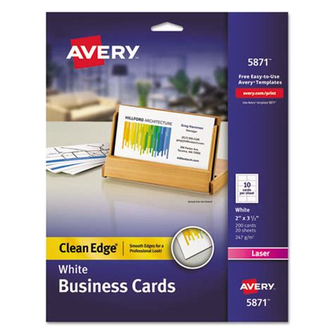 avery business card template 8376 bettymills avery 174 2 side printable clean edge 174 business
