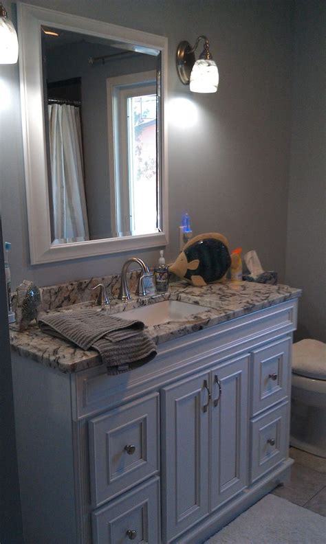 gray and blue bathroom bathroom design