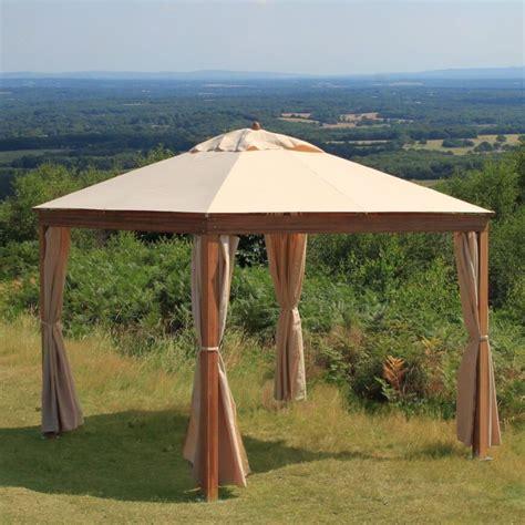 hier ist ein einfacher holz und leinwand portable pavillon