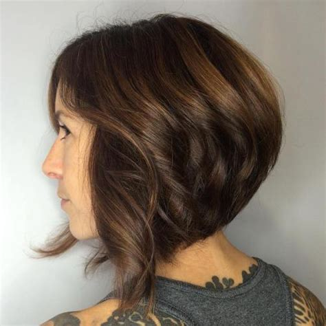 Brown Bob Hairstyles by 50 Trendy Inverted Bob Haircuts