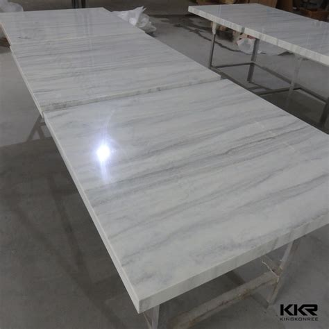 Korean Material For Table Top Customized Acrylic Solid Surface Fast Food Restaurant