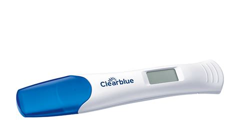 digital test discover clearblue digital pregnancy test with smart countdown