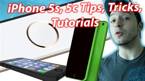 youtube tutorial iphone 5c how to use the iphone 5s iphone 5c tips tricks and