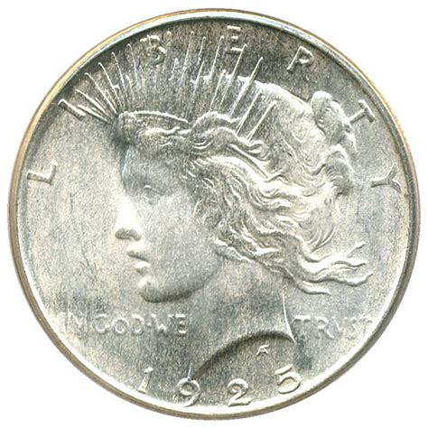 1925 silver dollar value 1925 peace silver dollar 1 pcgs ms66 buy sell