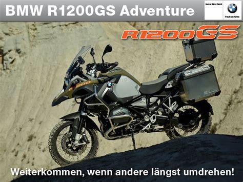 öffnungszeiten Bmw Motorrad Düsseldorf by Die Neue Bmw R1200gs Adventure Hechler Motor Gmbh